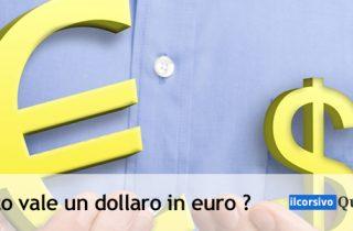 Convertitore dollaro euro Quanto sono 30 Dollari USD in Euro?
